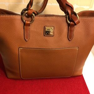 NEW!Dooney & Bourke Patterson Tammy Leather Tote